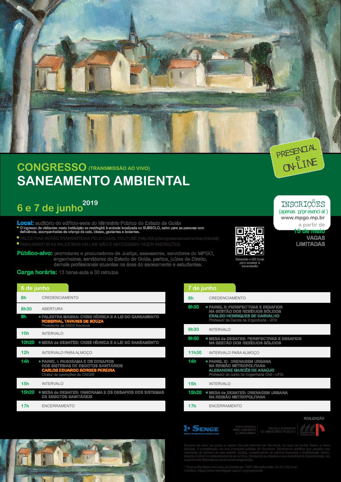 Congresso de Saneamento Ambiental de Goiás